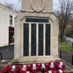 dorchester cenotaph Remembrance Sunday 2020