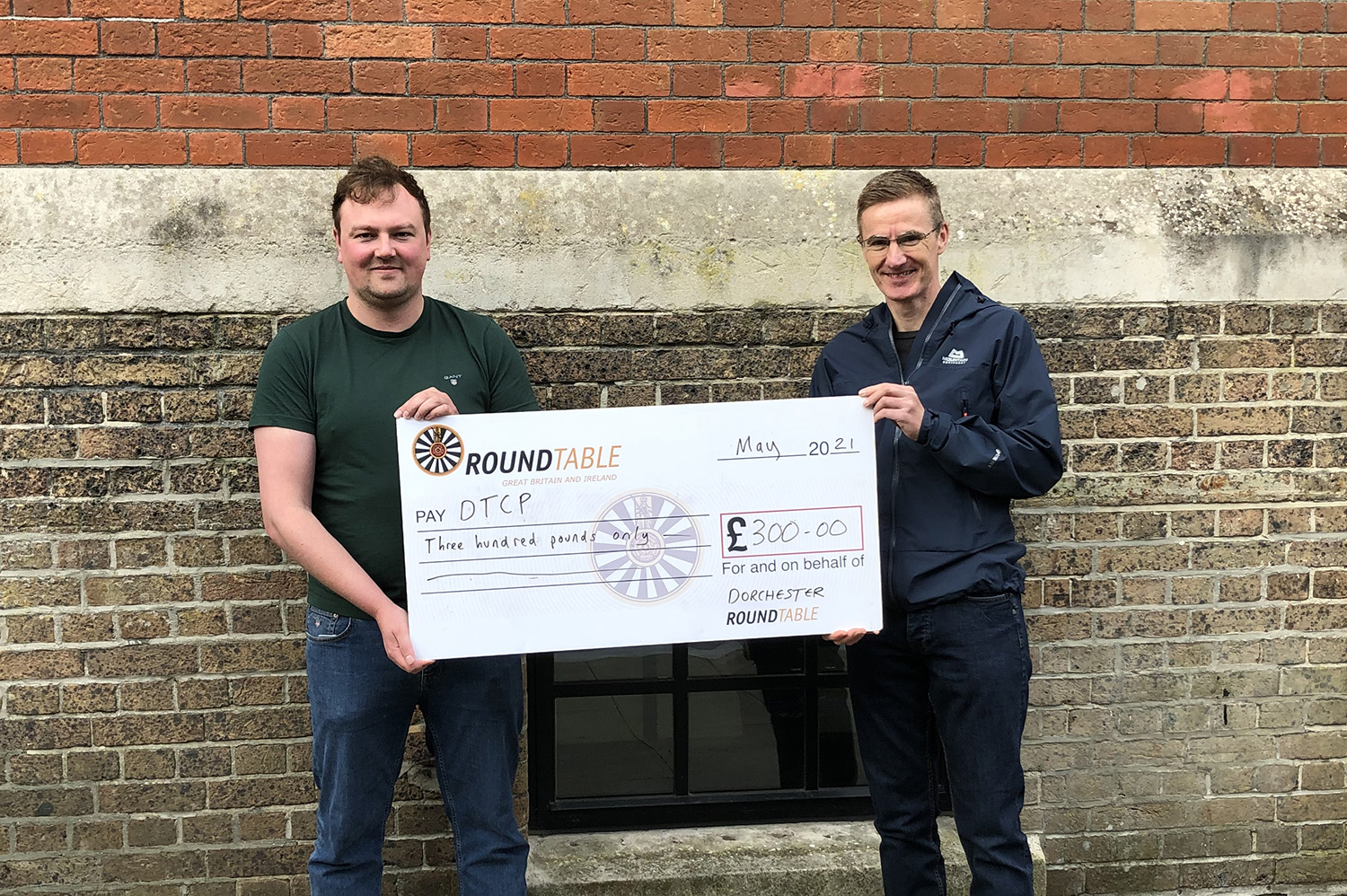 Dorchester Round Table Donation to Dorchester Trust for Counselling and Psychotherapy